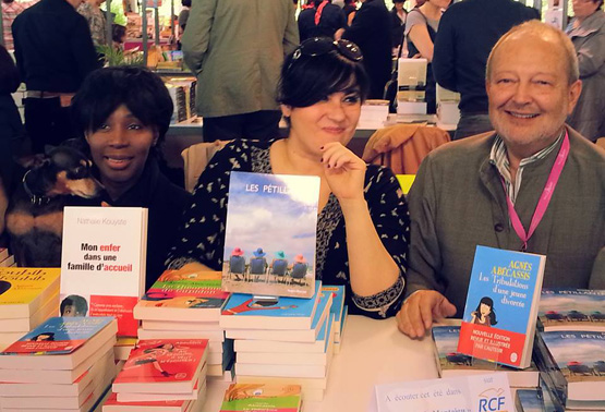 Nathalie Kouyate, Agnes Abecassis et Didier Fourmy
