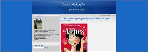 korifee - carnets