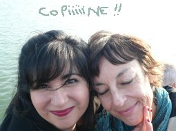 Agnes Abecassis et Corinne Roche