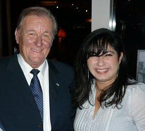 Albert Uderzo et Agnes Abecassis