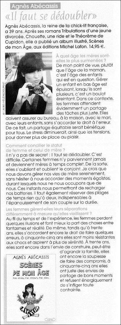 Interview Coté Beauté