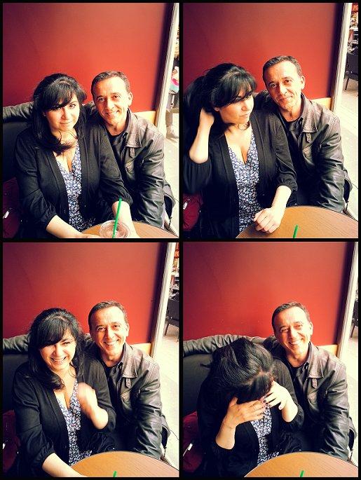 Agnes abecassis et Thierry Cohen 1