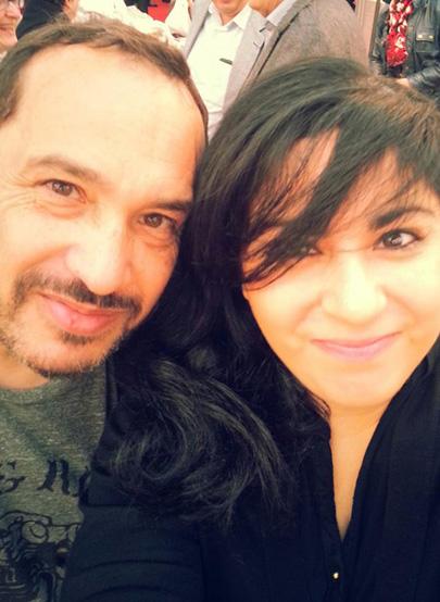 Mehdi el Glaoui et Agnes Abécassis
