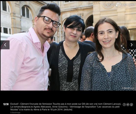 Clément l'incruste - Agnès Abécassis - Anne Goscinny 1BIS