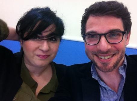 Eric Pincas et Agnes Abécassis