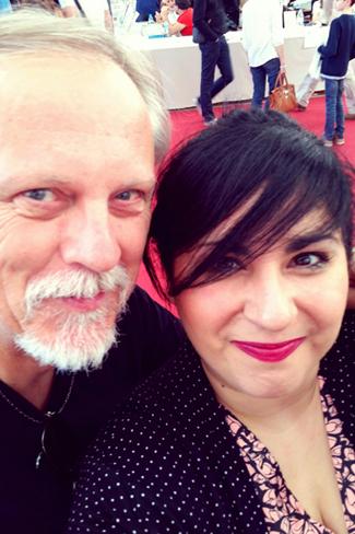 Franck Margerin et Agnès Abécassis