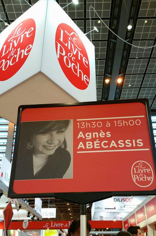 Livre Paris- Agnes Abecassis