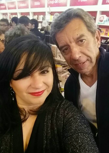 Michel Cymes et Agnes Abecassis